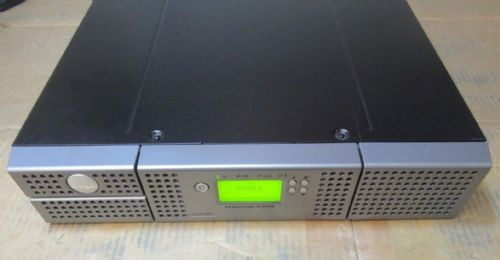 Dell Powervault TL2000 Rackmount Backup Tape Library With 2x LTO6 SAS Tape Drive